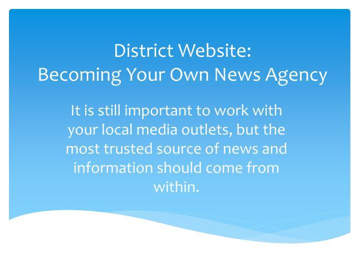 District Website: