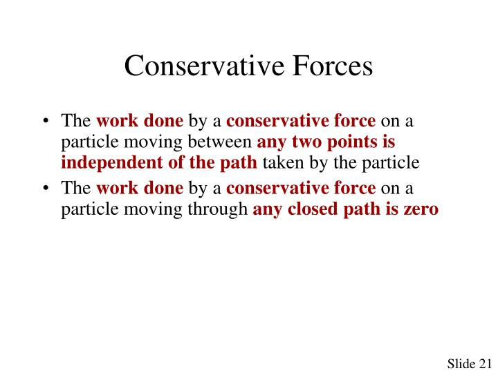 Conservative Forces
