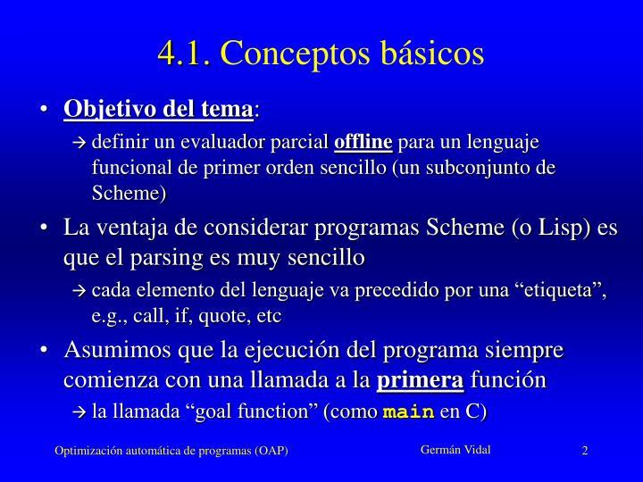 4 1 conceptos b sicos