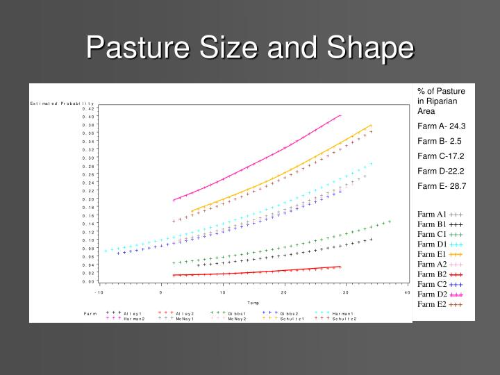 Pasture Size and Shape