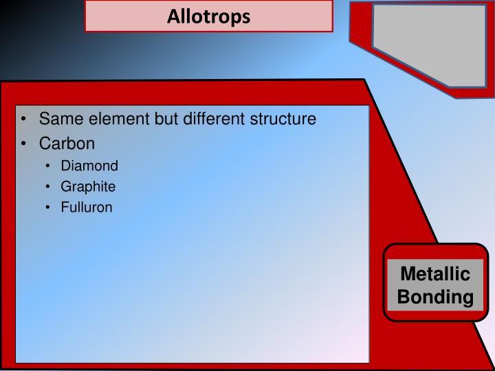 Allotrops