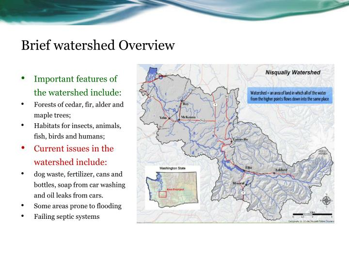 Brief watershed Overview