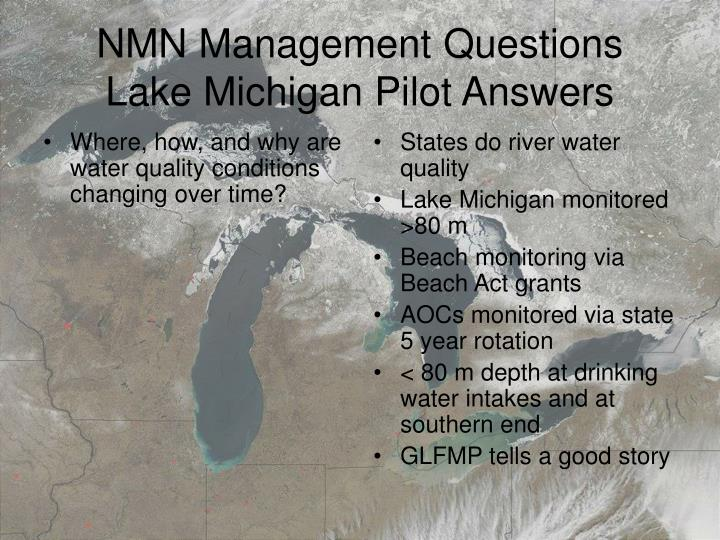 Where, how, and why are water quality conditions changing over time?