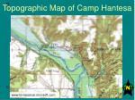 topographic map of camp hantesa