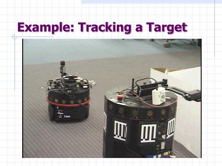 Example: Tracking a Target