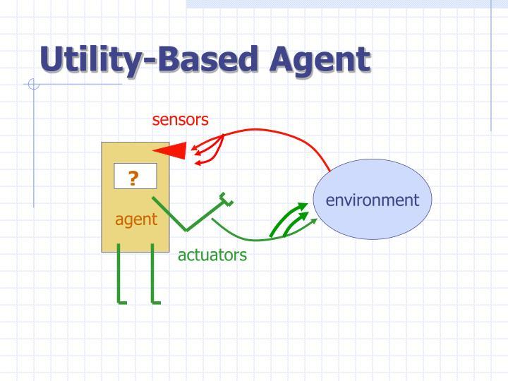 Utility based agent