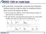 ieee 1284 en modo byte
