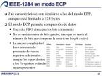 ieee 1284 en modo ecp