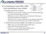 la interfaz rs232c3