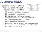 la interfaz rs232c4