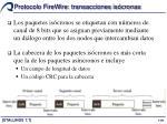protocolo firewire transacciones is cronas1