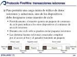 protocolo firewire transacciones is cronas2