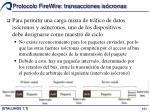 protocolo firewire transacciones is cronas3