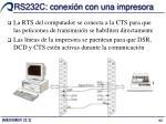 rs232c conexi n con una impresora2