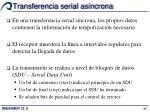 transferencia serial as ncrona