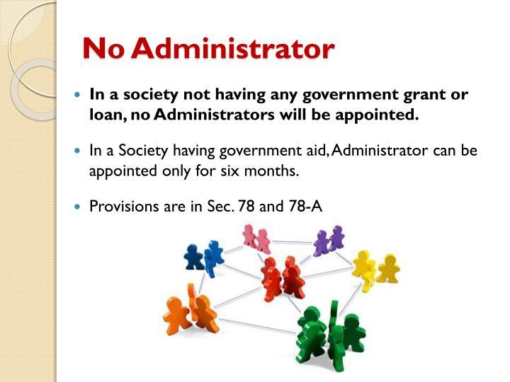 No Administrator
