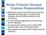 worker protection standard employer responsibilities10