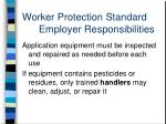 worker protection standard employer responsibilities12