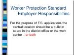 worker protection standard employer responsibilities2