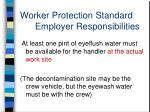 worker protection standard employer responsibilities5