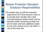 worker protection standard employer responsibilities6