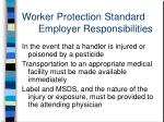 worker protection standard employer responsibilities7