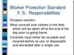 worker protection standard f s responsibilities2