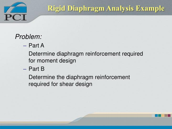 Rigid Diaphragm Analysis Example