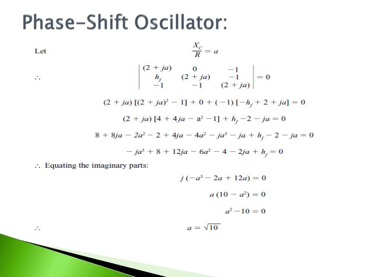 Phase-Shift Oscillator: