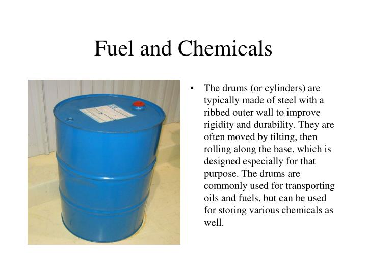 Fuel and Chemicals