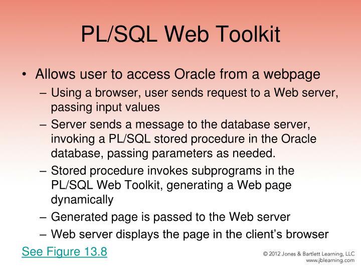 PL/SQL Web Toolkit