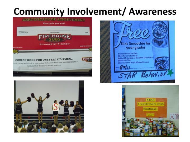 Community Involvement/ Awareness