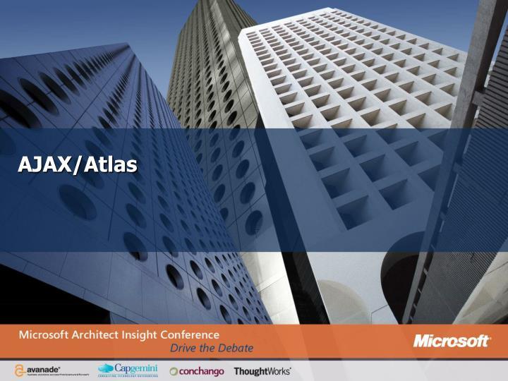 AJAX/Atlas