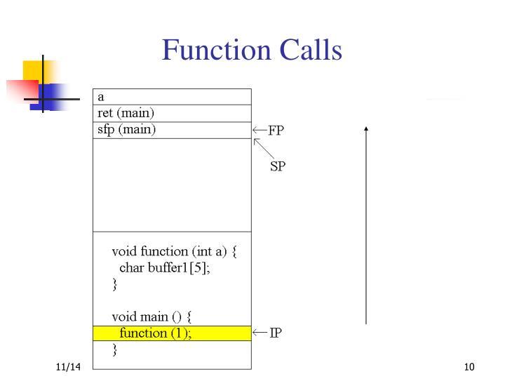 Function Calls