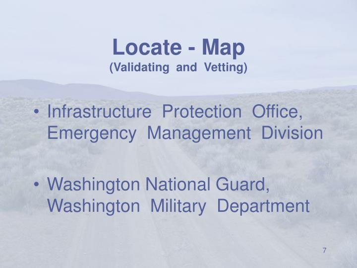 Locate - Map