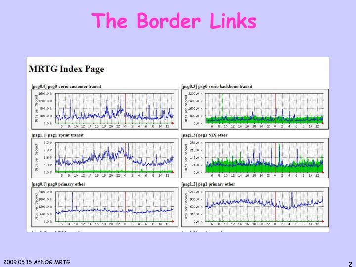 The Border Links