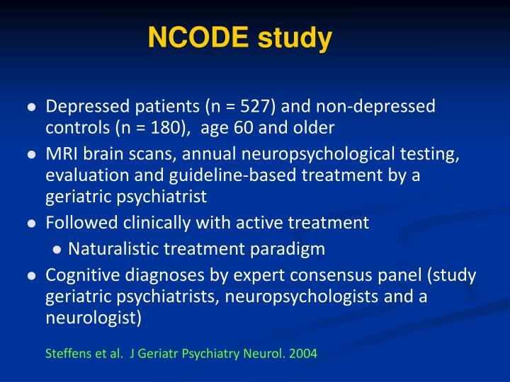 NCODE study