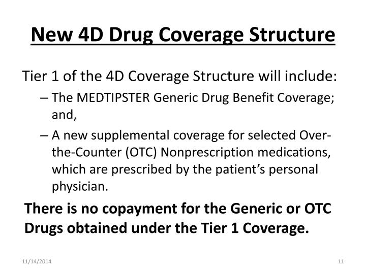 New 4D Drug Coverage Structure