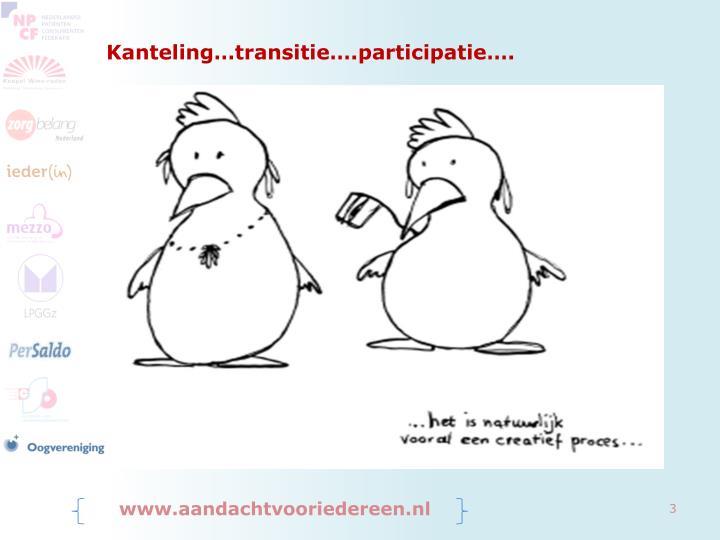 Kanteling transitie participatie