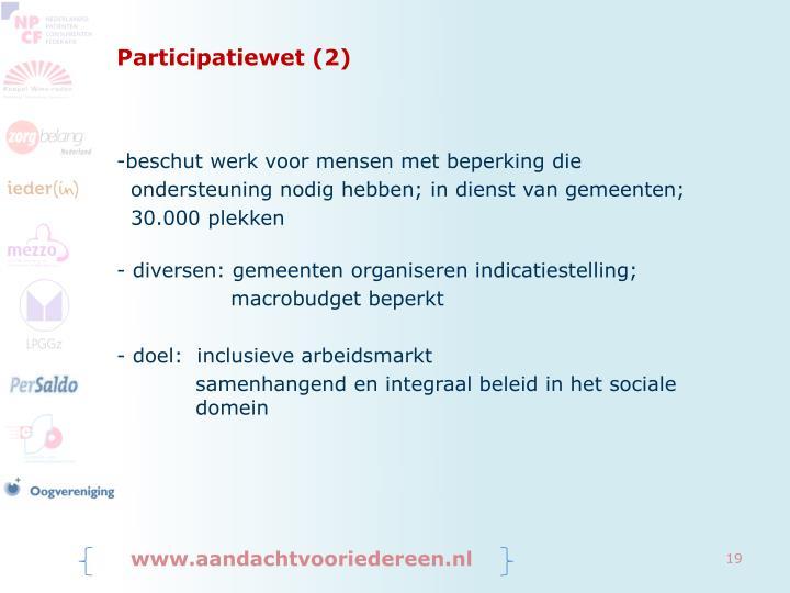 Participatiewet (2)
