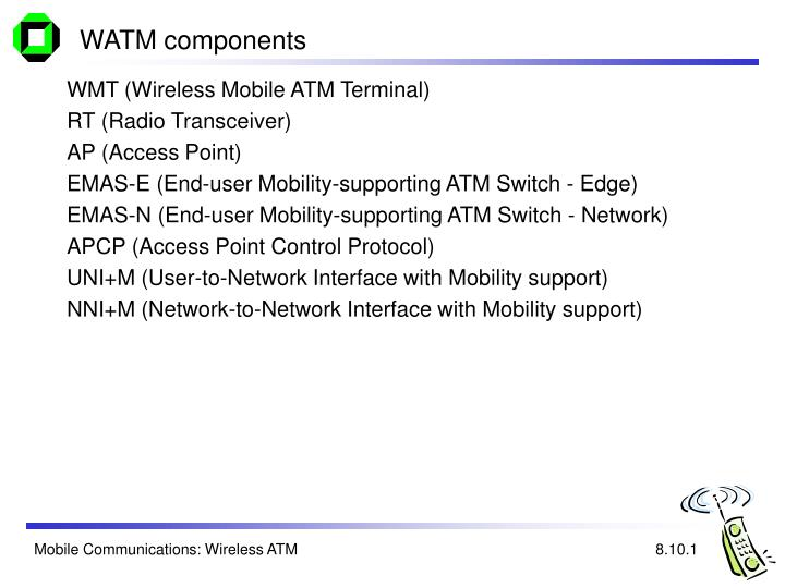 WATM components