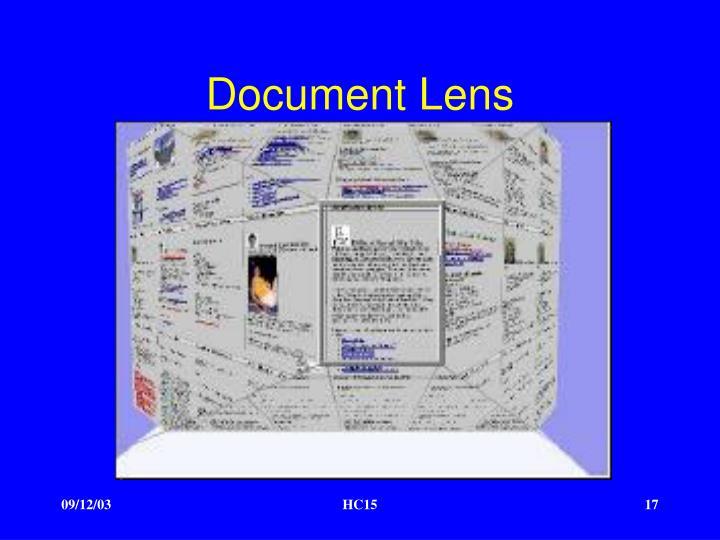 Document Lens