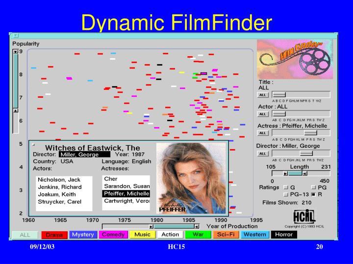 Dynamic FilmFinder