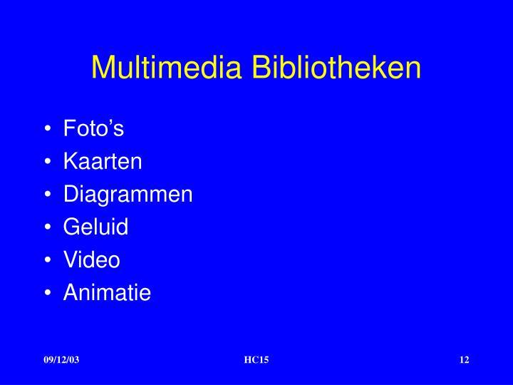 Multimedia Bibliotheken
