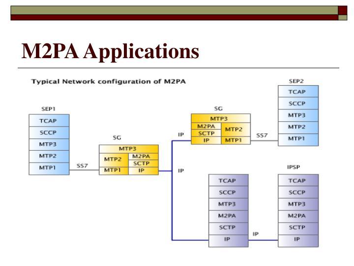 M2PA Applications
