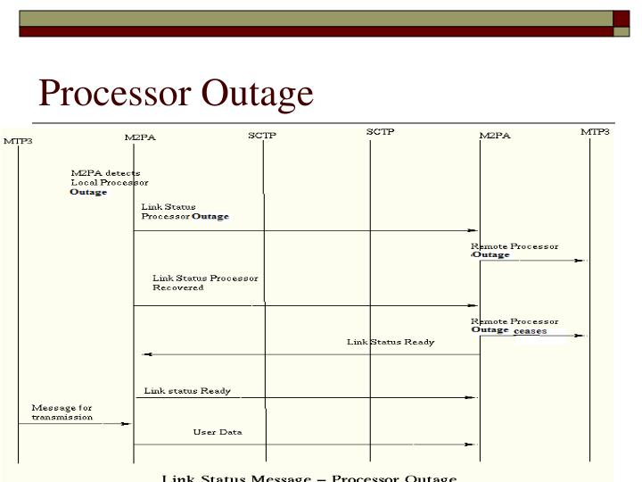 Processor Outage