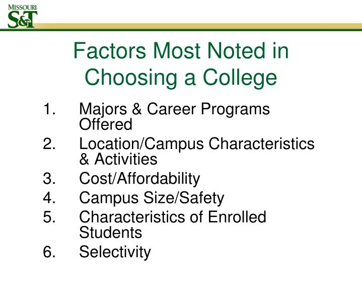 Majors & Career Programs Offered