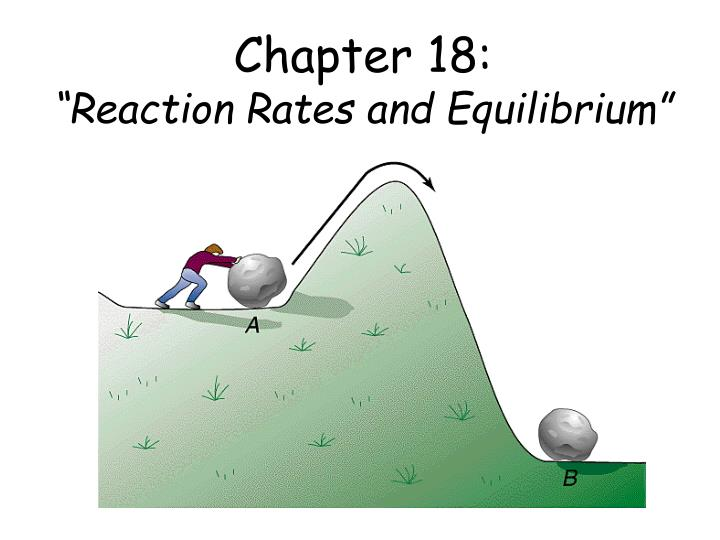 Chapter 18 reaction rates and equilibrium