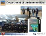 department of the interior blm