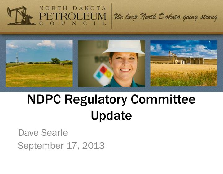 ndpc regulatory committee update